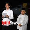 Jokowi di Dampingi KH Ma'ruf Amin (Wapres Terpilih), Katakan 01 dan 02 Sudah Tidak Ada