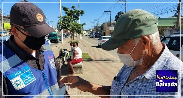 13 mil máscaras são entregues na Baixada Fluminense