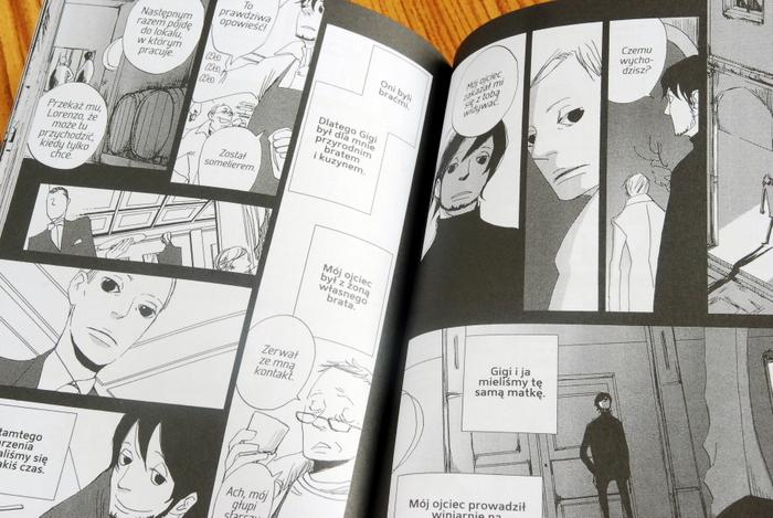 Wnętrze komiksu, tajemnica Gigiego