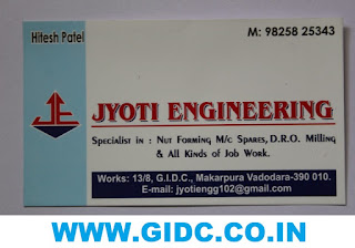 JYOTI ENGINEERING - 9825825343