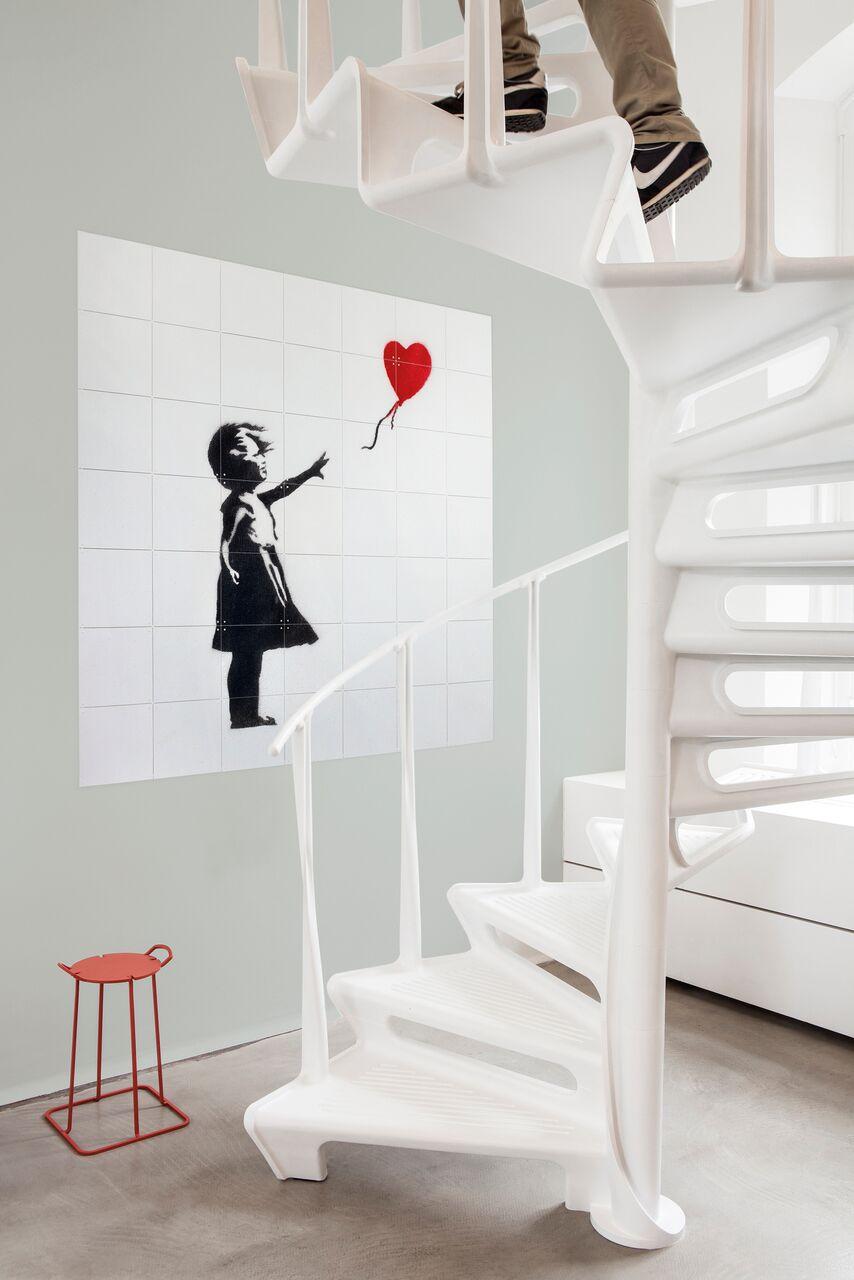 Holenderski projekt dekoracji ścian