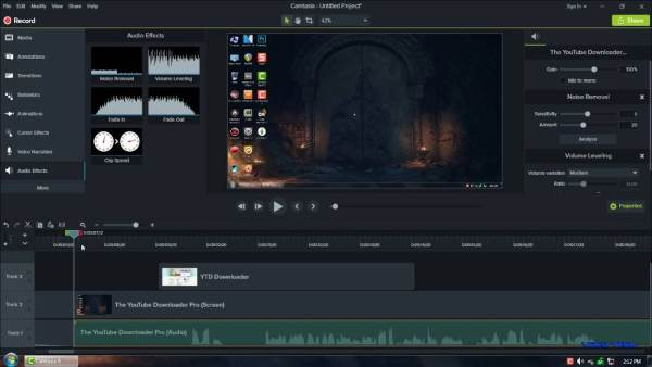Camtasia Studio - 11 Software Video Editor Terbaik Untuk Windows