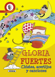 Chistes, acertijos y canciones : chupachús / Gloria Fuertes ; ilustraciones de Margarita Menéndez