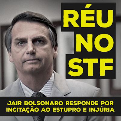 Bolsonaro réu no STF