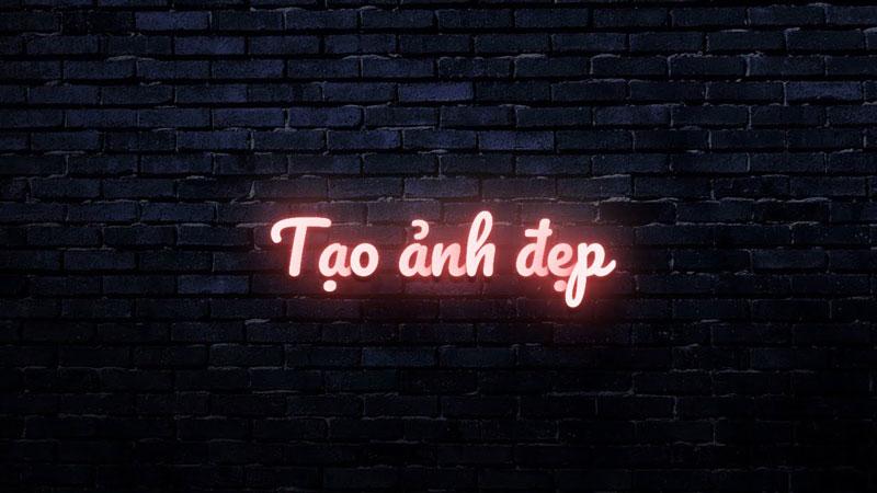 Tạo hiệu ứng chữ đèn Neon theo tên của bạn