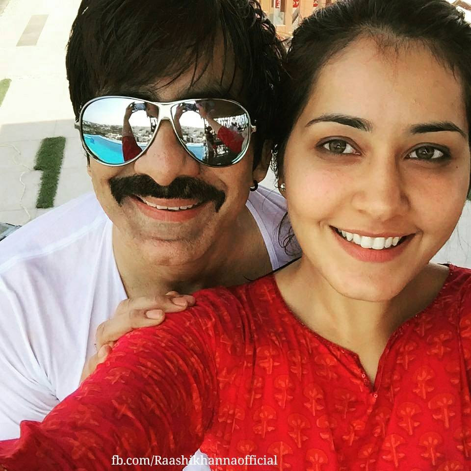 Rashi Khanna Stills Without MakeUp Face