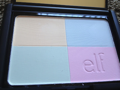 elf studio tone correcting powder