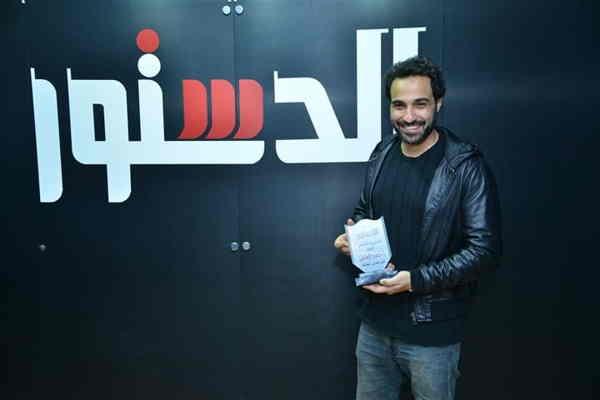 احمد فهمي يقاضي الدستور
