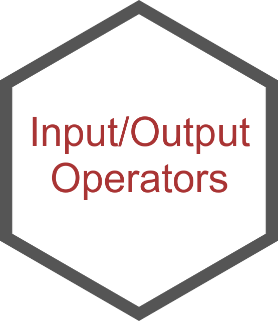 Input/Output Operators