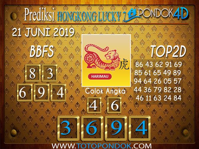 Prediksi Togel HONGKONG LUCKY 7 PONDOK4D 21 JUNI 2019