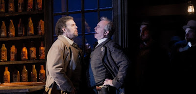 Grange Park Opera - La Fanciulla del West - Lorenzo Decaro, Stephen Gadd - photo Robert Workman