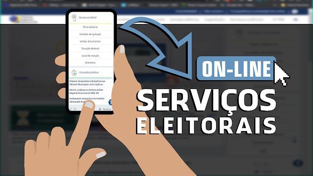 Serviços eleitorais on-line
