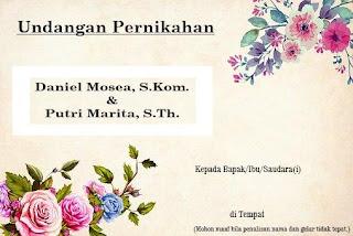 undangan pernikahan kristen bahasa indonesia