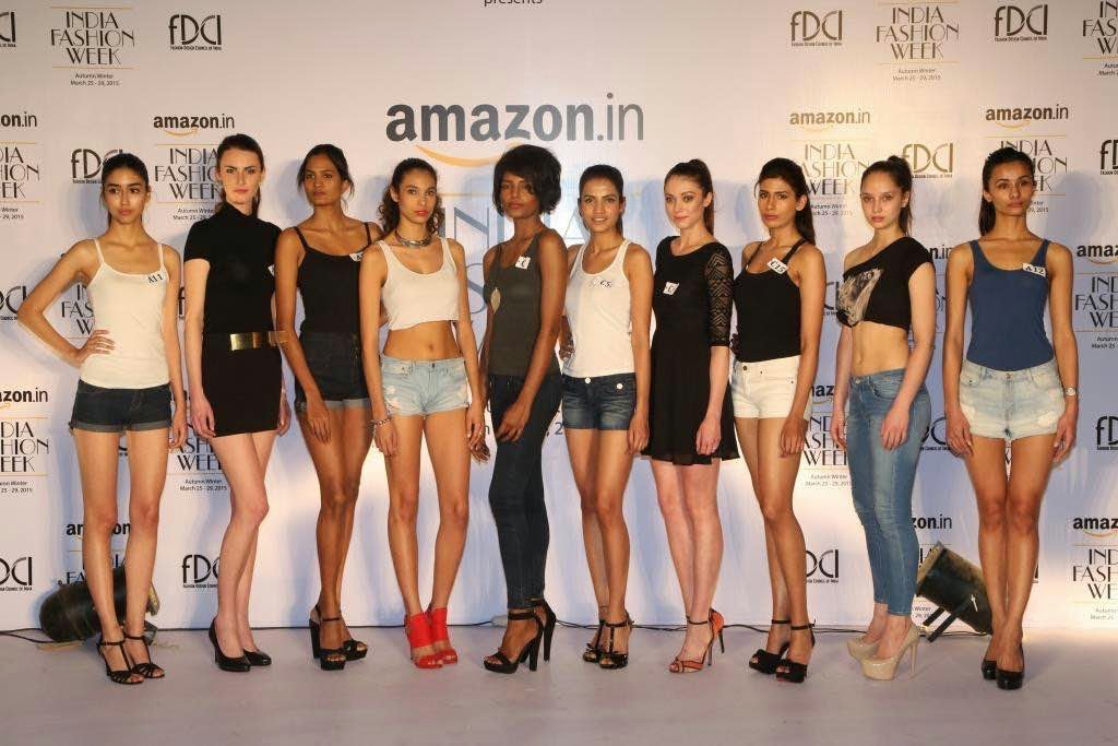 FDCI-Amazon India Fashion Week AW'15 :Model Auditions