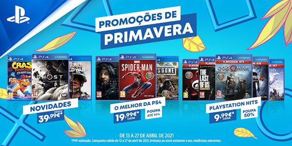 Promoções de Primavera da PlayStation® chegam aos pontos de venda habituais