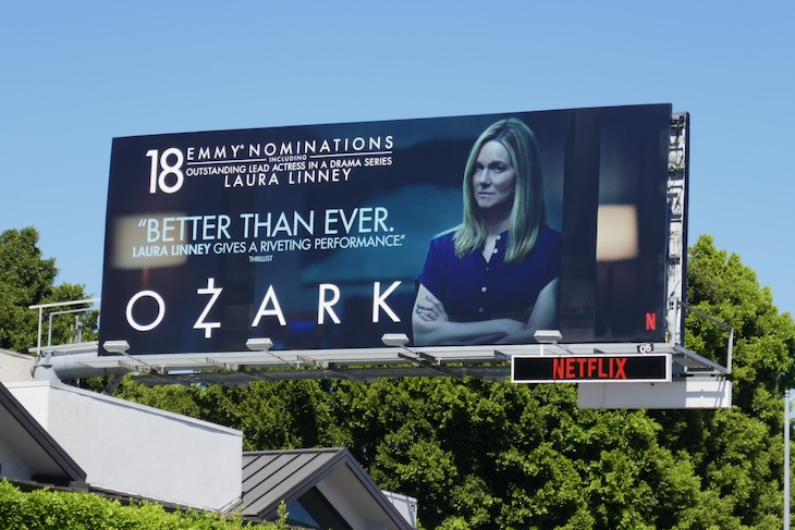 Laura Linney Ozark 2020 Emmy nominee billboard