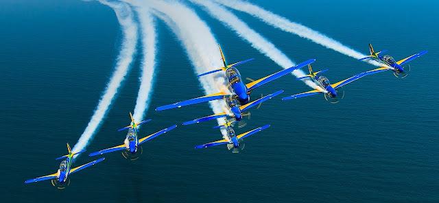 Esquadrilha da Fumaça fará show aéreo em Campo Mourão no dia 11 de abril