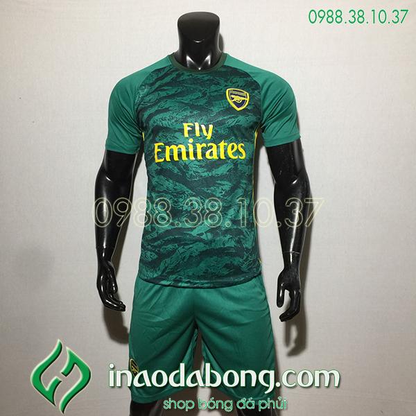 Áo bóng đá câu lạc bộ Arsenal màu xanh 2020
