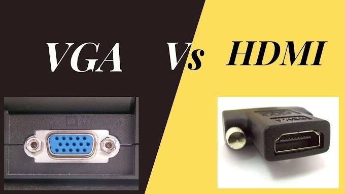 HDMI vs VGA हिंदी में .