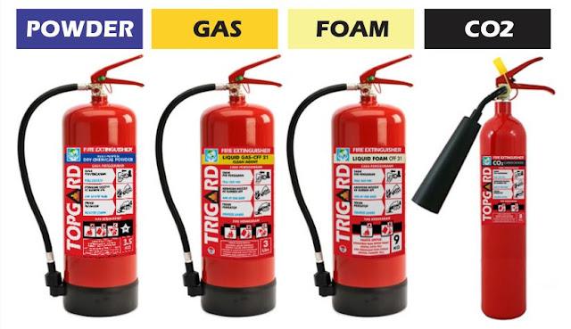 Jenis-jenis alat pemadam api ringan (apar)