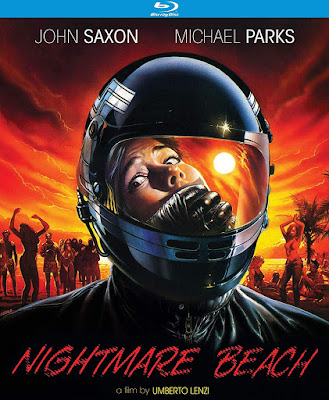 Cover art for Kino Lorber's Special Edition Blu-ray of NIGHTMARE BEACH!