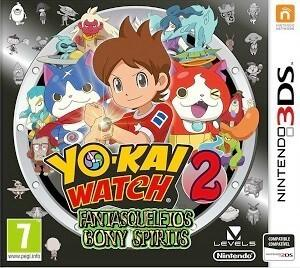 Rom Yo-Kai Watch 2 Bony Spirits 3DS