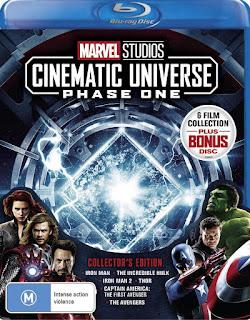 Marvel Studios Cinematic Universe: Fase 1 [BD25] *Subtitulada
