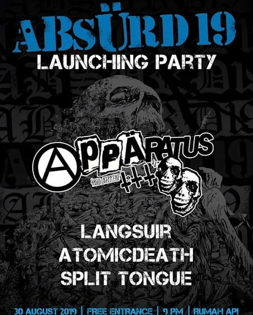 ABSURD 19 LAUNCHING PARTY