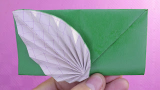 hướng dẫn cách gấp bao thư bằng giấy đơn giản origami envelope easy tutorials
