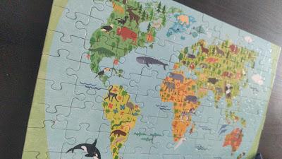 puzzle mappemonde découverte du monde continents maternelle ief