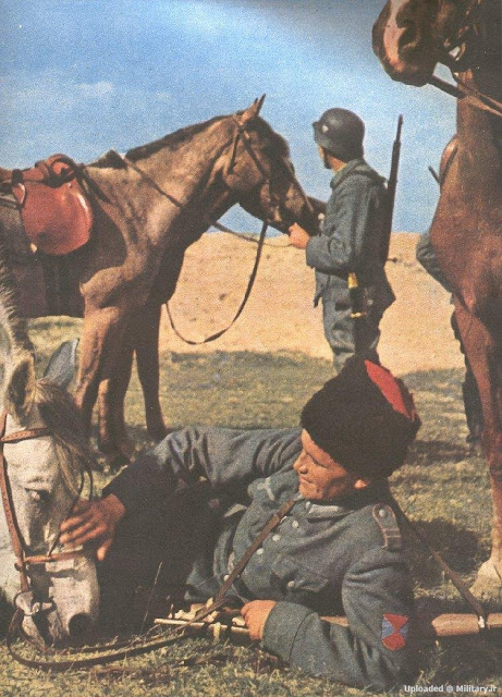 Cossack volunteer in the Wehrmacht worldwartwo.filminspector.com