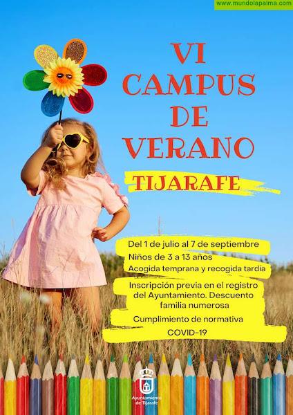 Tijarafe abre las inscripciones para su VI Campus de Verano