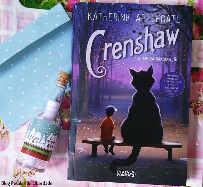 Resenha, livro, Crenshaw, Katherine-Applegate, Plataforma-21, bog-literario-petalas-de-liberdade, capa, trecho