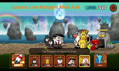 Update Line Rangers Mod Apk
