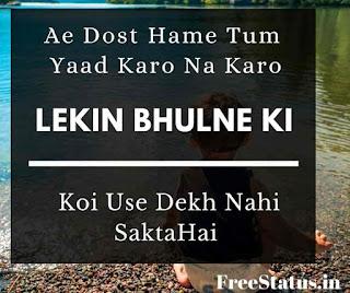 Ae-Dost-Hame-Tum-Dosti-Shayari-In-Hindi