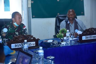 Ketua Tim COE MONUSCO: Hasil Inspeksi Satgas TNI Konga XXXIX-B RDB Dinyatakan Sangat Baik