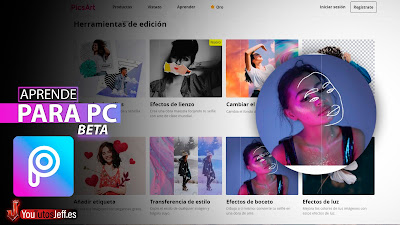 Como Usar PicsArt para PC, Editor de Imagen Online