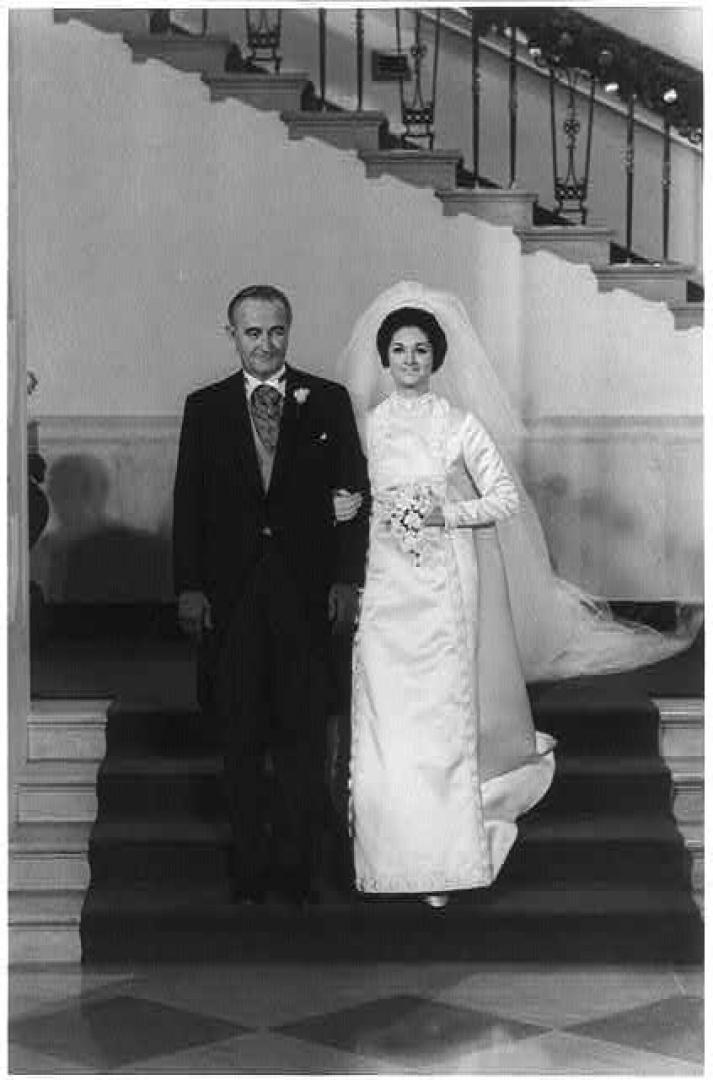 American Royal Wedding Lynda Bird Johnson