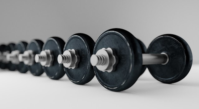 Step Ups with Dumbbells