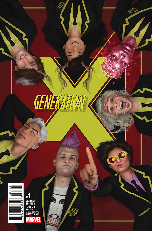GENERATION X #1