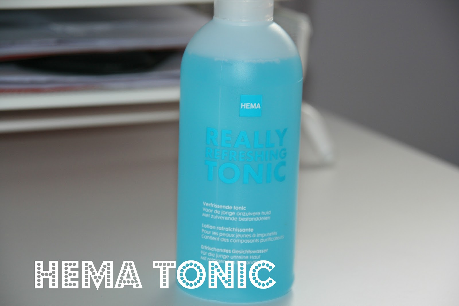 Soorten Tonic Hema Tonic 43 Cleasing Review Label16