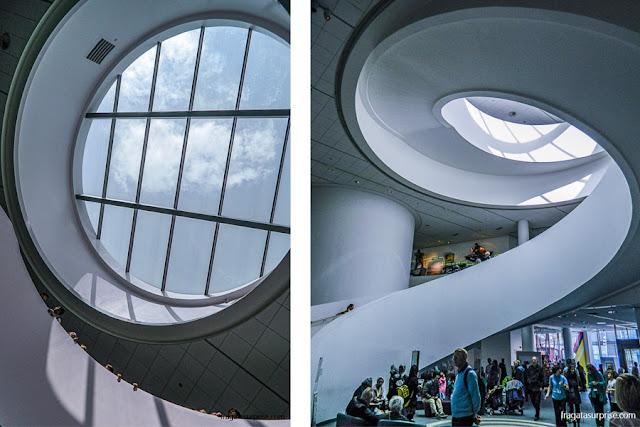 Detalhes arquitetônicos do Museu de Liverpool