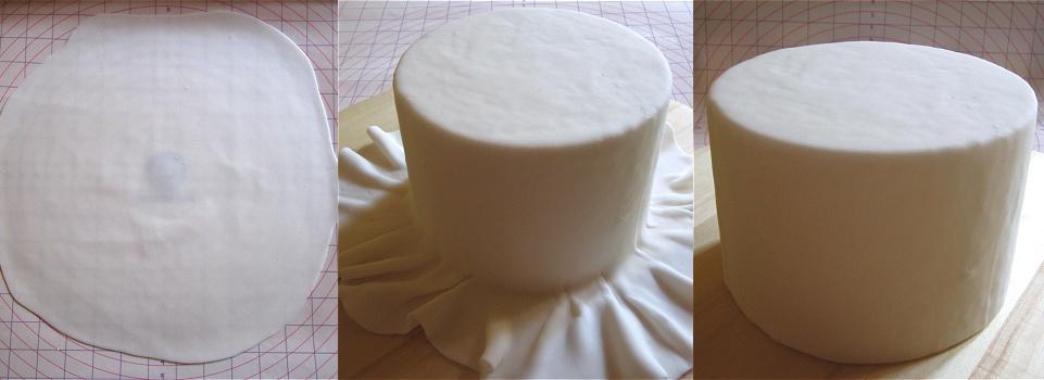 Tutorial Petal Cake/Blütentorte/Torte mit Blütenblättern 5