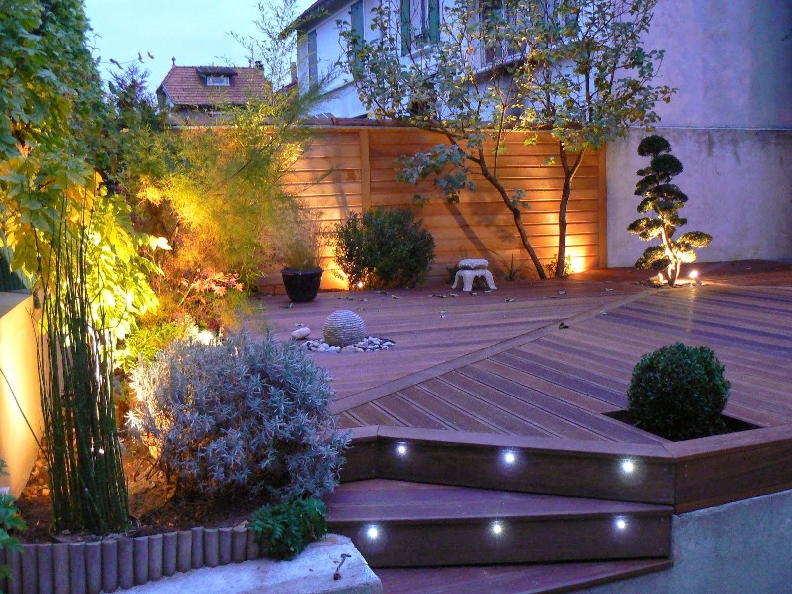 jardins eclairage de jardin. Black Bedroom Furniture Sets. Home Design Ideas