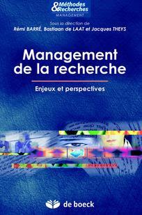 Télécharger Livre Gratuit Management de la recherche - Enjeux et perspectives pdf