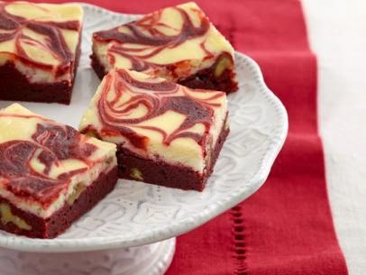 Red Velvet and Cream Cheese Swirl Brownies Recipe
