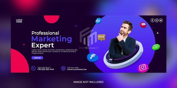 Digital Marketing Agency Corporate Social Media Post Template