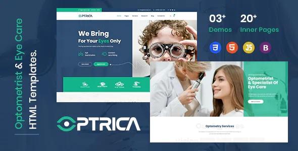 Best Eyecare & Optometrist HTML5 Template