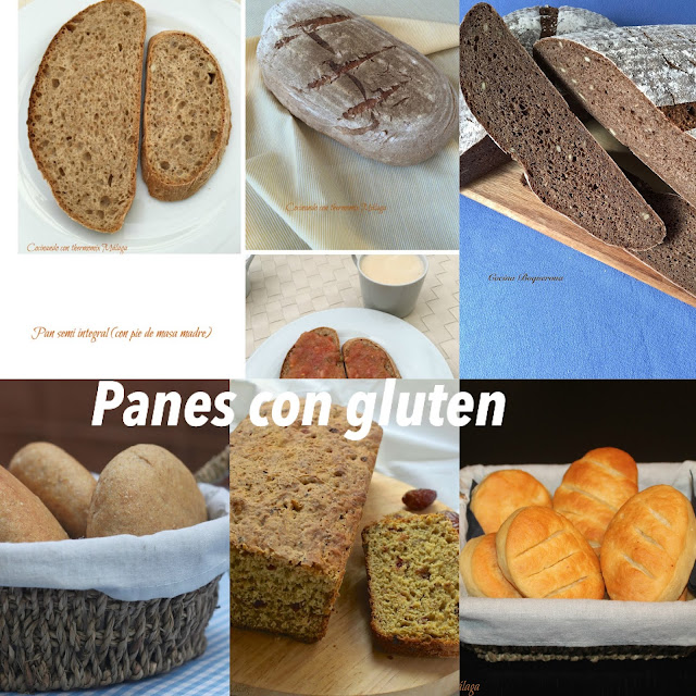 Recetas de pan (con y sin gluten) para el Día mundial del pan