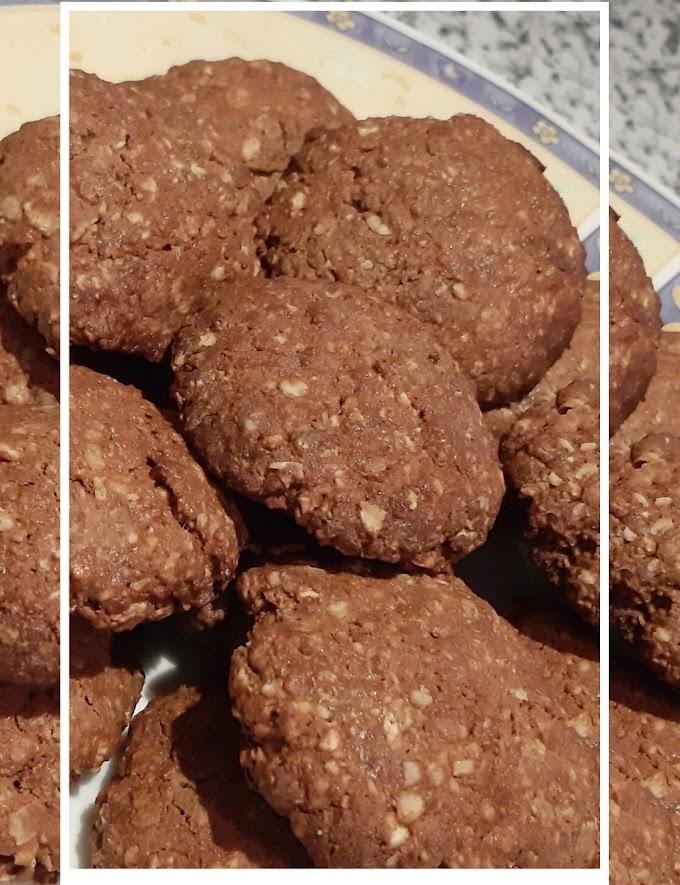 Σοκολατένια Μπισκότα Πρωτεΐνης
